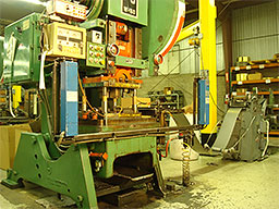 60 ton progressive stamping press with metal feeder